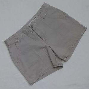 DKNY Jeans Flat Front Khaki Shorts Women's